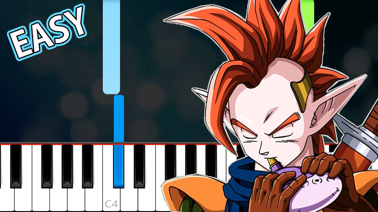 Dragon Ball Z - Tapion Easy Piano Tutorial