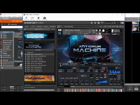 ANTIDRUM MACHINE by Soundiron for NI Kontakt - The BIG Soundtest Demo