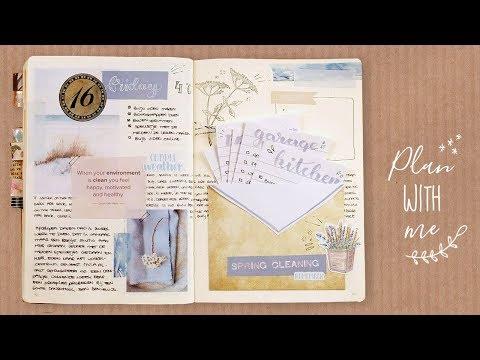 Spring Cleaning lijst Plan with Me - Bullet Journal Nederlands
