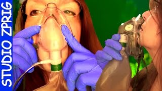 ASMR NURSE Helps you Breath to Relax - RX Oxygen - Turn It Up