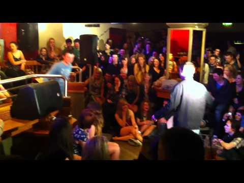 Hypnotist Michael McCoy Performs at UL