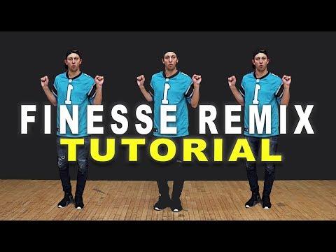 FINESSE (Remix) - Bruno Mars ft Cardi B Dance TUTORIAL || Matt Steffanina