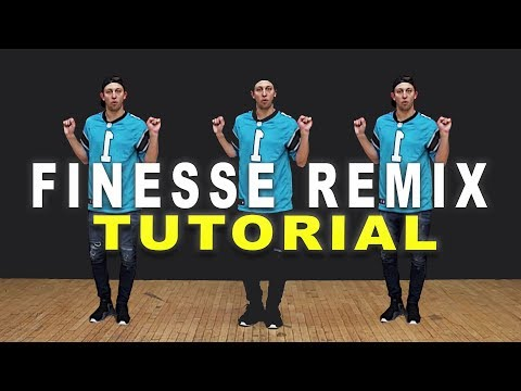 FINESSE (Remix) - Bruno Mars ft Cardi B Dance TUTORIAL || Matt Steffanina | DANCE TUTORIALS LIVE