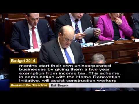 Budget 2014 - Michael Noonan
