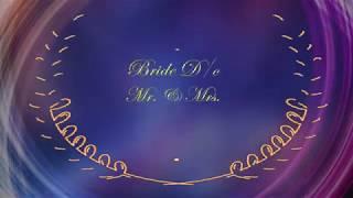 Muslim Wedding Invitation 01   Free & Blank With Demo