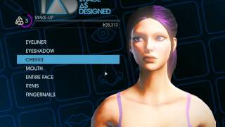Saints Row IV - Female Character Creation