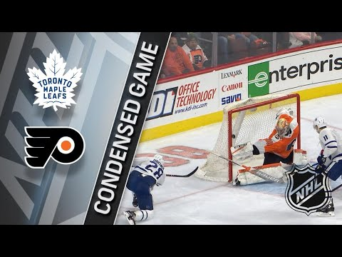 01/18/18 Condensed Game: Maple Leafs @ Flyers