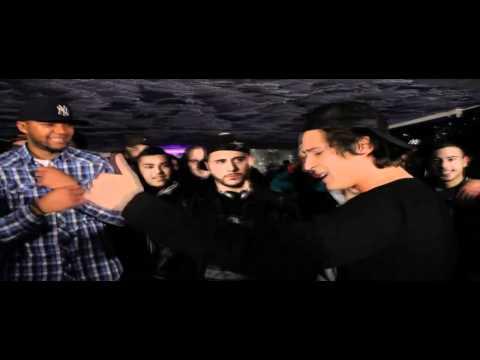 Nekfeu (1995) vs Logik Konstantine - Rap Contenders 1