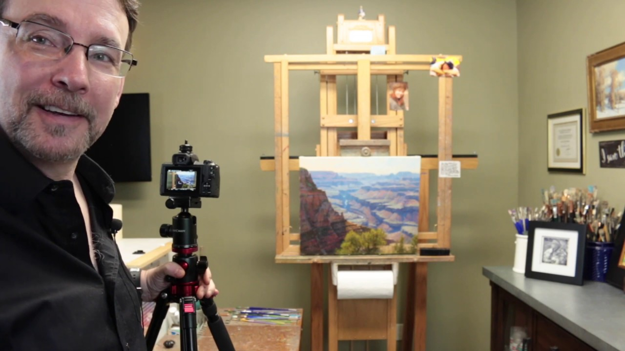 Photographing your Artwork for the Sharpest, Most Accurate Images You Can Imagine!