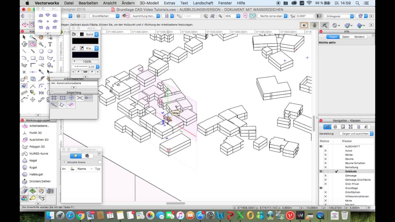 Vectorworks tutorials | caddigest. Com.