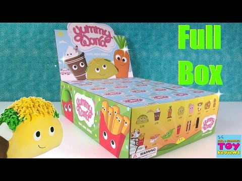 Yummy World Kidrobot Vinyl Mini Figures Unboxing Full Box Opening | PSToyReviews