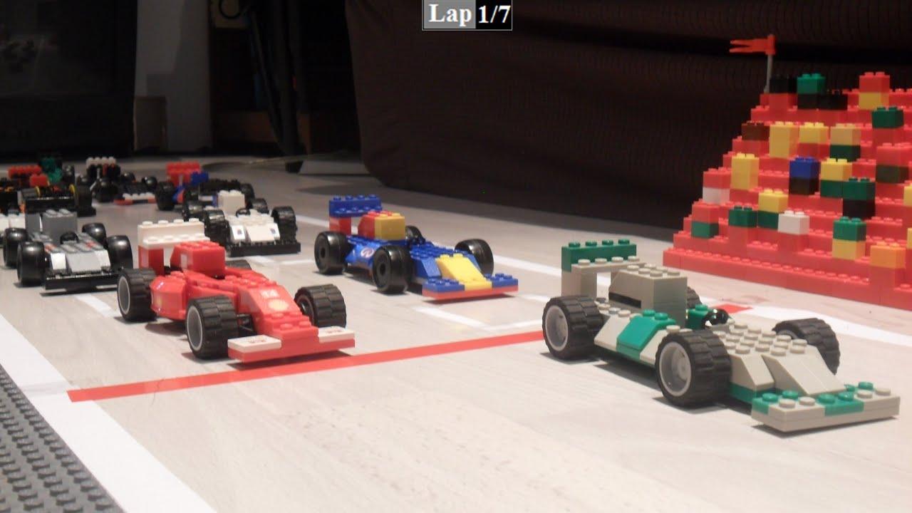 F1 2014 Lego Race Youtube
