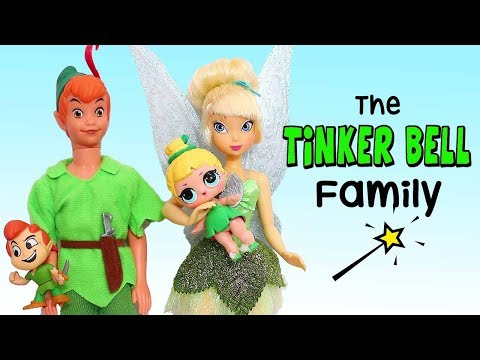 LOL Families  The TinkerBell Family and the Rascal Brother  Toys and Dolls Play for Kids  SWTAD