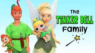 LOL Families ! The TinkerBell Family and the Rascal Brother | Toys and Dolls Play for Kids | SWTAD