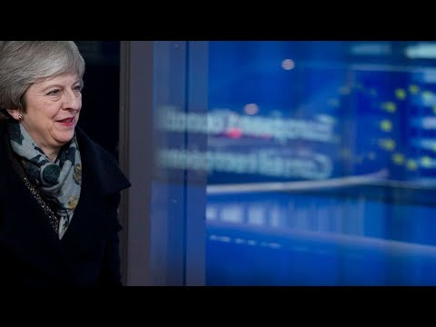 Theresa May takes questions in British Parliament