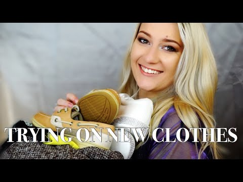 TRYING ON CLOTHES I GOT FOR CHRISTMAS | SHEIN, AMERICAN EAGLE, AMAZON