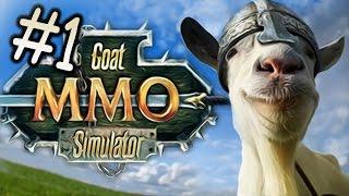 GOAT MMO // MICROWAVE GOAT?! - Goat Simulator - Part 1