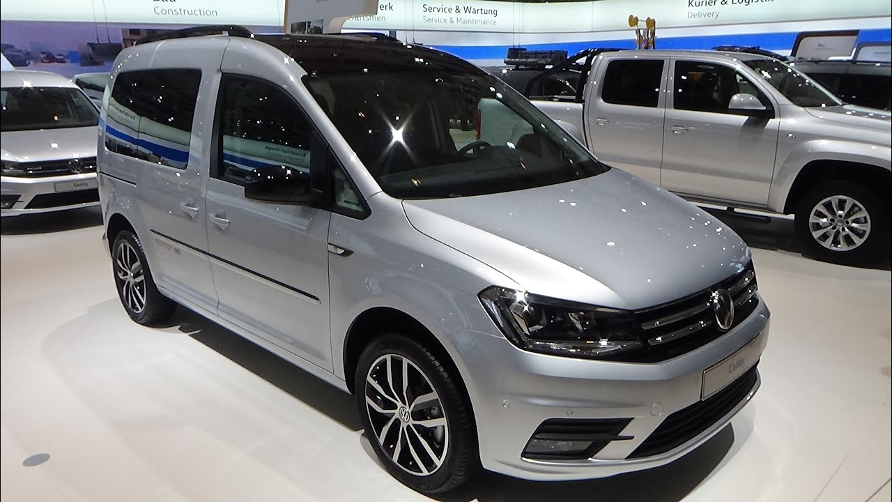 2017 volkswagen caddy edition 35 exterior and interior iaa hannover 2016 youtube. Black Bedroom Furniture Sets. Home Design Ideas