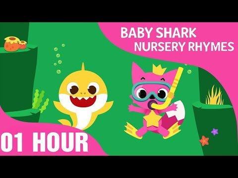 how-deep-is-the-sea---baby-shark-nursery-rhyme-|-01-hours-non-stop---songs-for-children