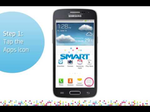 Samsung Galaxy Core LTE: Turn on/off data services