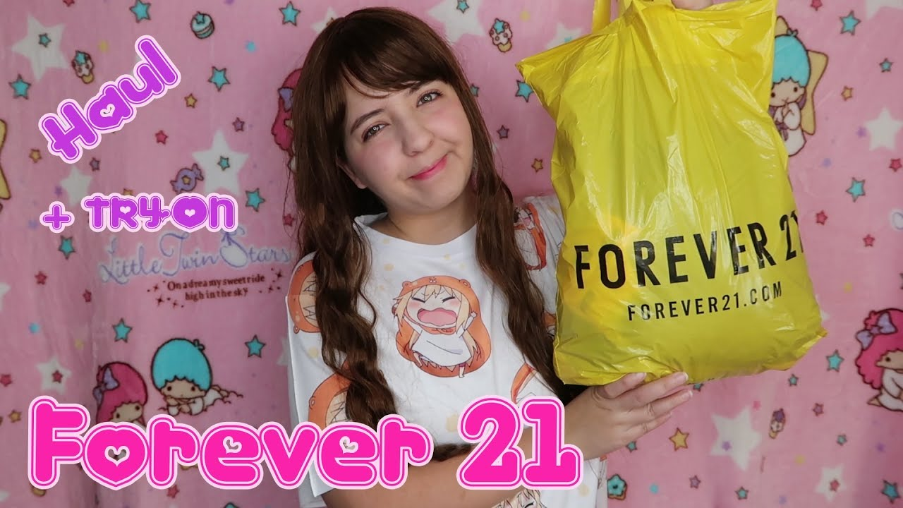 7bb3792a40043 Forever21 Haul Try on   Review by Miwako