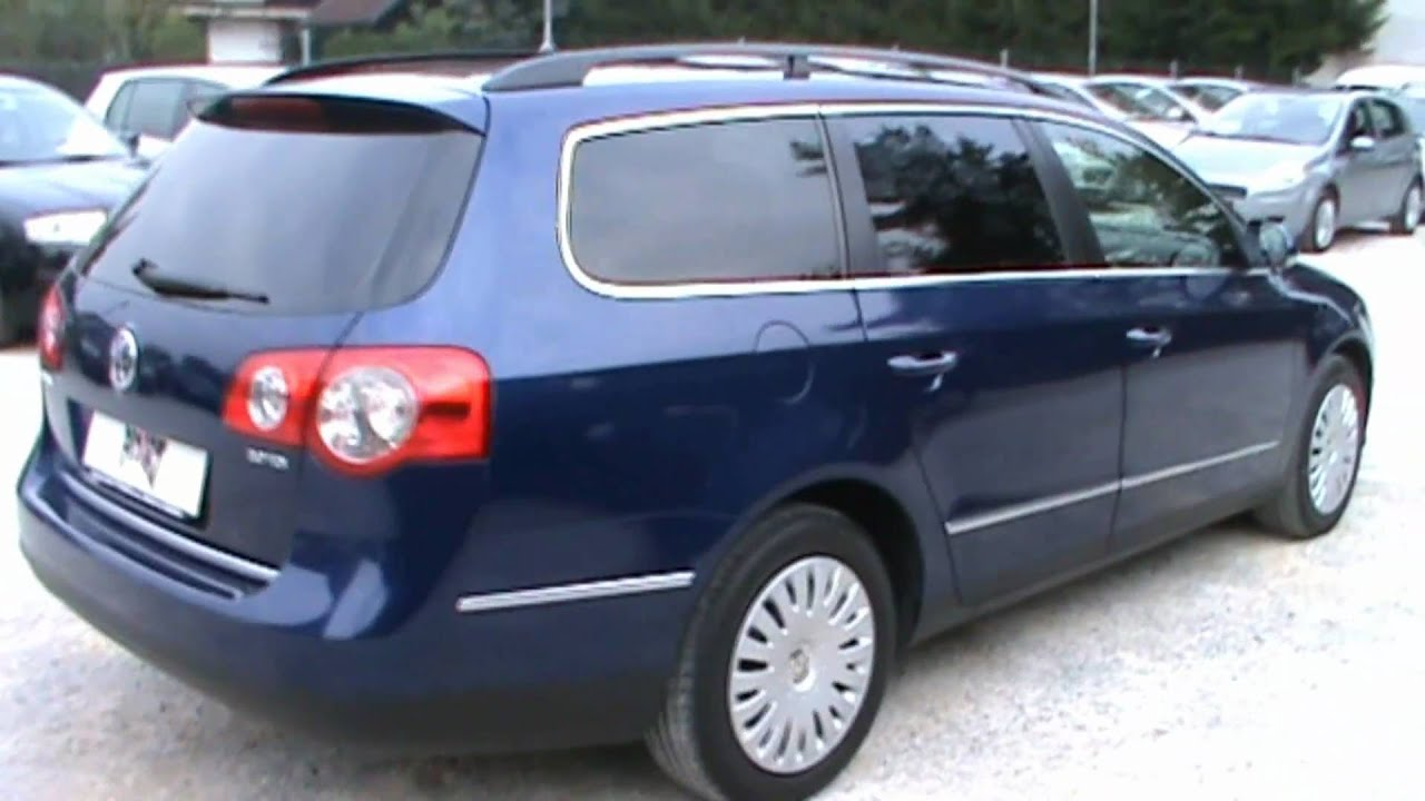 2006 vw passat variant 2 0 tdi comfortline full review start up engine and in depth tour youtube