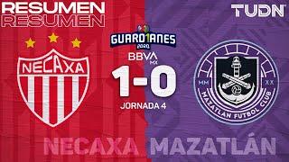 Resumen y goles   Necaxa 1-0 Mazatlán   Guard1anes 2020 Liga BBVA MX - J4   TUDN
