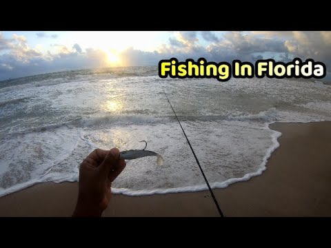 Fishing At SUNRISE In Fort Lauderdale In Search Of BIG FISH - Trini In Florida - PT. 2