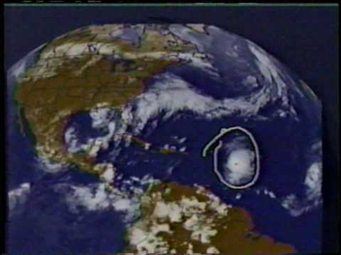 TWC Hurricane Georges/TS Hermine coverage: Clip 2
