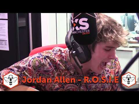 Jordan Allen with R.O.S.I.E for Music Made In Manchester