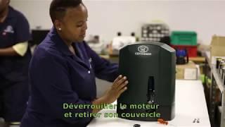CENTURION Systems - Remplacement des balais de charbon du moteur D10/ D10 Turbo