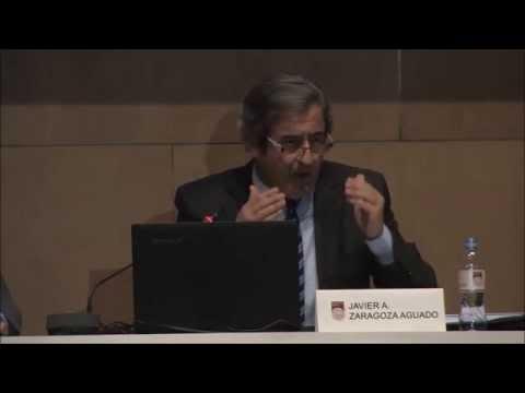 """Sr. Javier A. Zaragoza Aguado: """"Terrorismo internacional: estado actual y respuesta legal"""""""