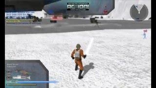 Star Wars Battlefront II Capture The Flag Hoth Pure LUKE SKYWALKER GAMEPLAY