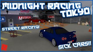 STREET RACING IN JAPAN!! || ROBLOX - Midnight Racing Tokyo