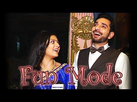 Drashti and Sidhant aka Rani Gayatri and Ranaji of Ek Tha Raja Ek Thi Rani in a fun mode. MUST WATCH