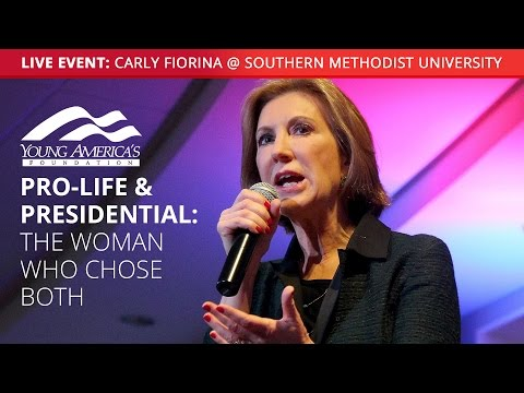 Carly Fiorina LIVE at Southern Methodist University