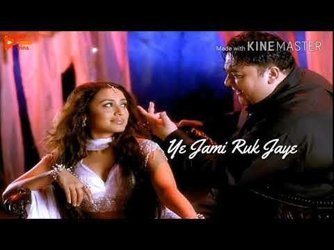 💞 ye Jami ruk jaye Asma juk jaye Tera chahera jab nagar aye 💞 romantic love status 💏
