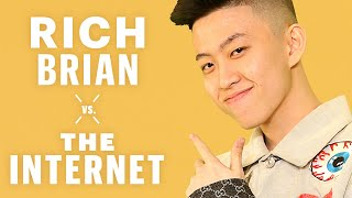 Rich Brian Responds To Internet Comments | Vs. The Internet | Men's Health