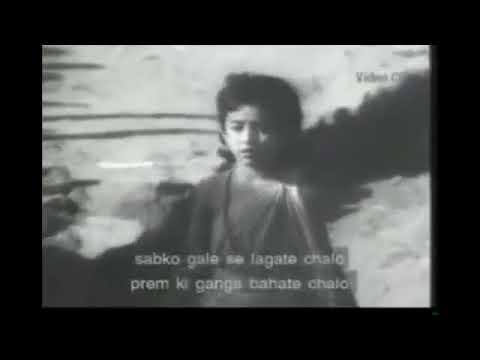 JYOT SE JYOT JAGATE CHALO   {ORIGINAL MOVIE CLIP}   Mukesh & Lata   SANT GYANESHWAR 1964