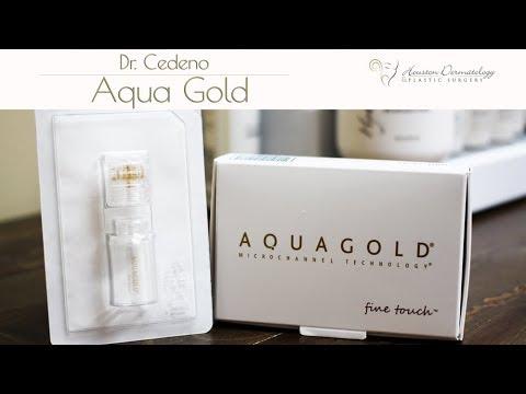 Aqua Gold | Houston Dermatology & Plastic Surgery | Katy /Cinco Ranch