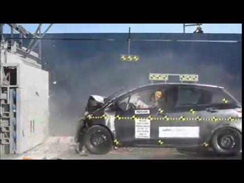 Safecar crash test 2016 toyota yaris smart motors for Smart motors toyota madison wi