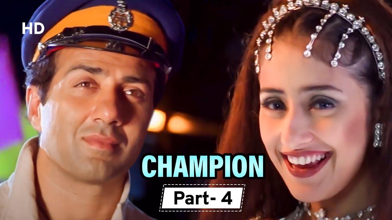 Champion - Movie In Parts 04 | Sunny Deol - Manisha Koirala - Superhit Hindi Movie