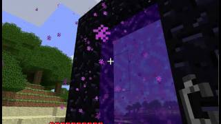 How to make a portal to the nether world in minecraft thumbnail