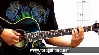 Cómo tocar en la guitarra Two Steps Behind de Def Leppard