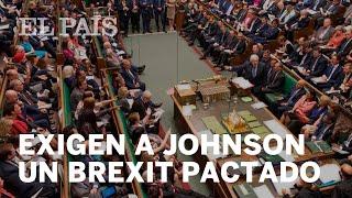 La Cámara de los Comunes APRUEBA la proposición de leyque exige a JOHNSON un BREXIT PACTADO