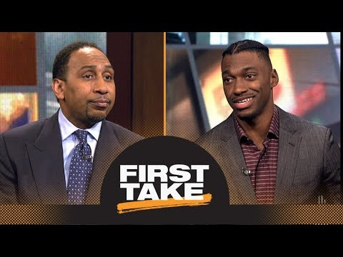 Stephen A. Smith asks Robert Griffin III questions about NFL career | First Take | ESPN