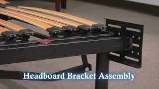 Adjustable Platform Frame Headboard/footboard Bracket