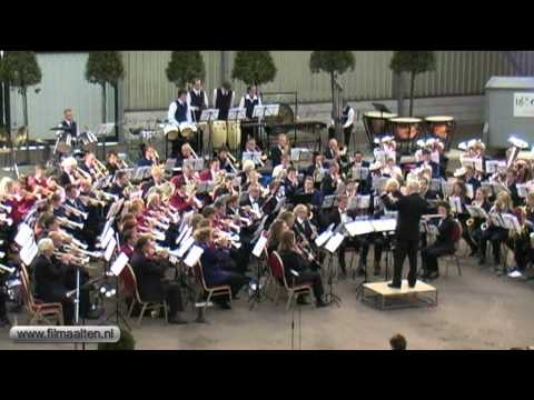 Gezamenlijk concert van alle muziekverenigingen uit de gemeente Aalten in Barlo.