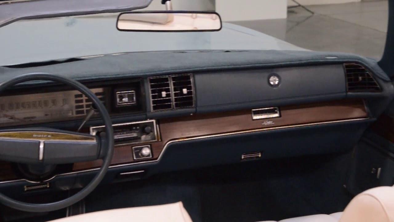 convertible car 1975 Buick LeSabre convertible Gateway Classic Cars of Scottsdale #387