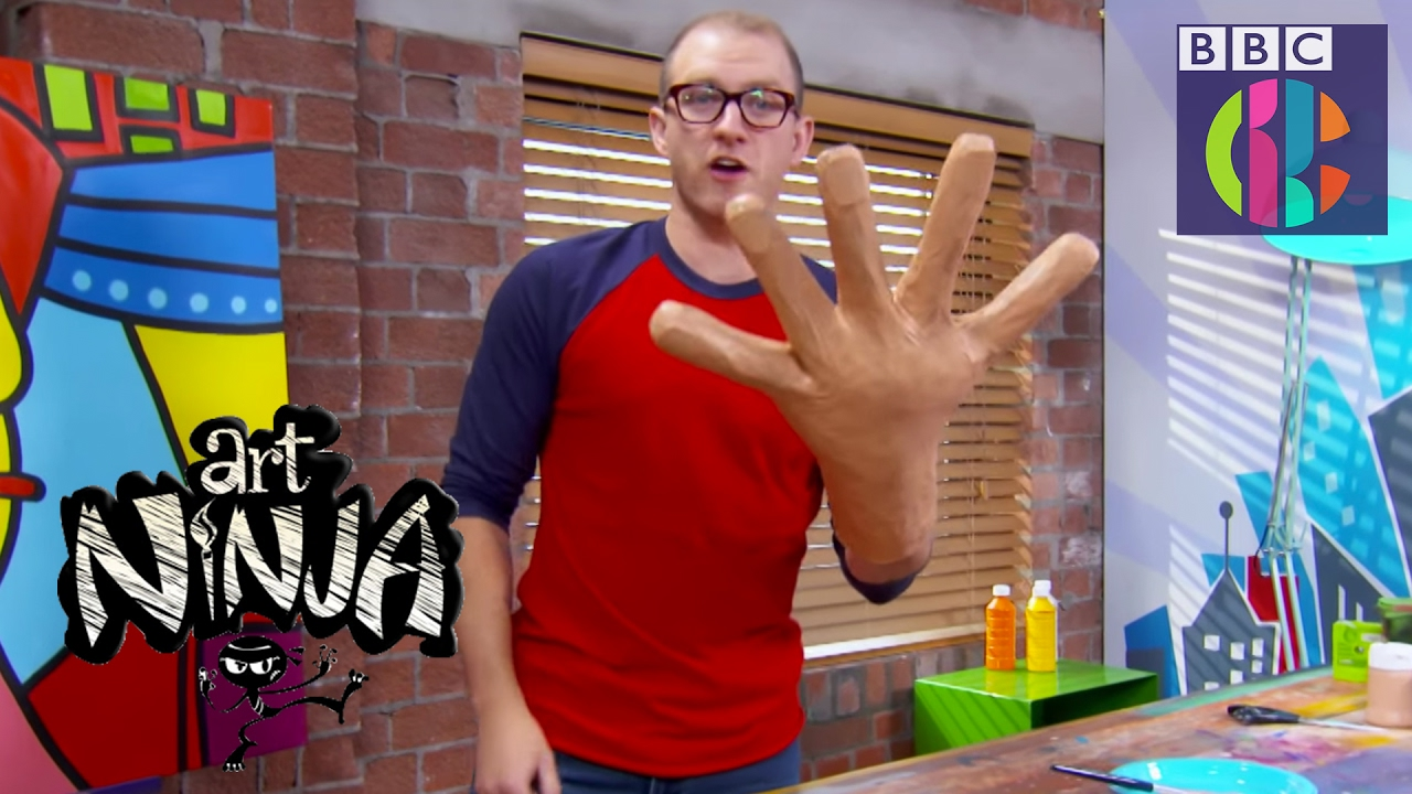 how to make fake hands